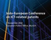 Indo-European conference on ICT-related patents
