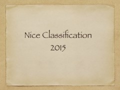 New version of the Nice Classification 2015